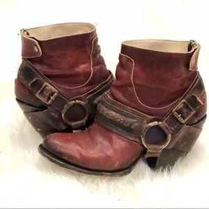 d3ca2ca8c80 Freebird by Steven El Paso Harness Bootie Boots